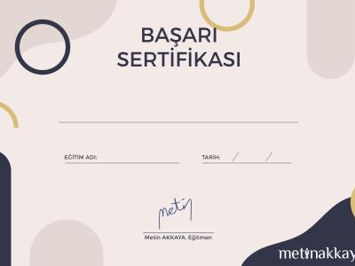 metinakkayasertifika